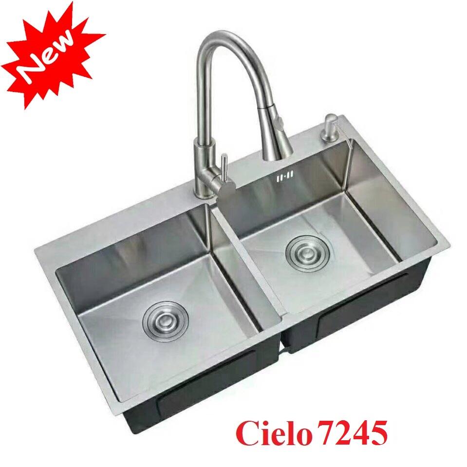 Chậu rửa bát Cielo 7245